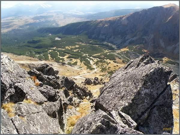 Furkotská dolina z Mlynického Soliska