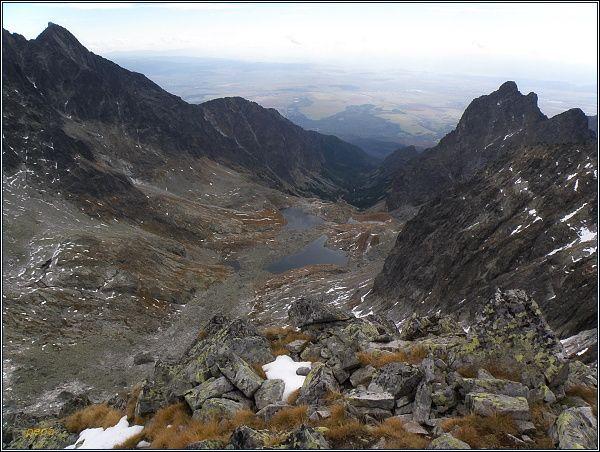 Malá Studená dolina z Ľadovej priehyby