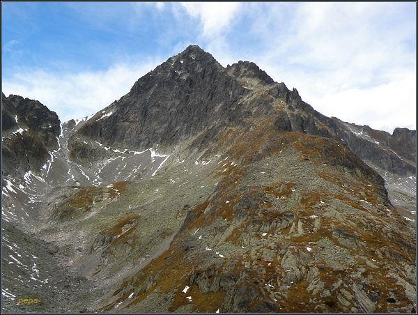Ľadové štíty, Dolinka pod Sedielkom