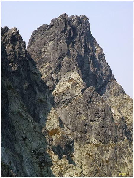 Veľký Ganek z Prostrednej Sneznej kopy