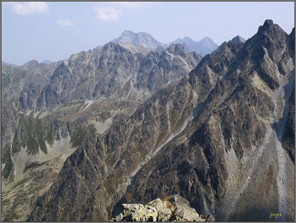 Vysoké Tatry z Hrubej Sneznej kopy