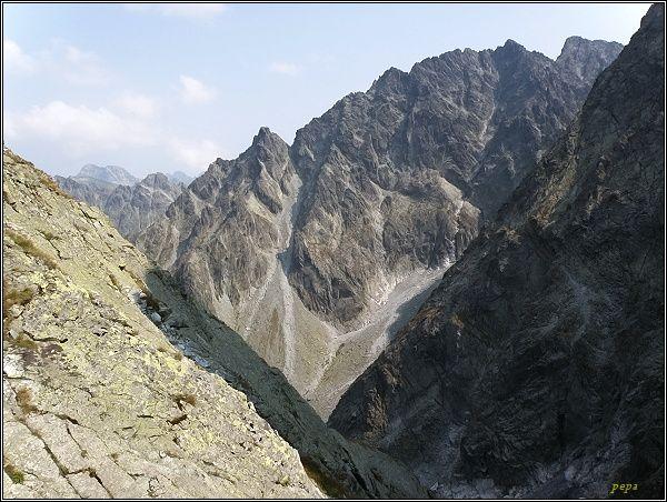 Kačacia dolina z Východnej Železnej brány