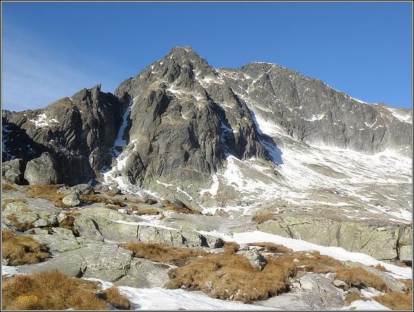 Ľadové štíty nad Malou Studenou dolinou