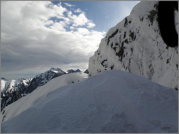 Ľadové štíty ze Západnej Železnej brány