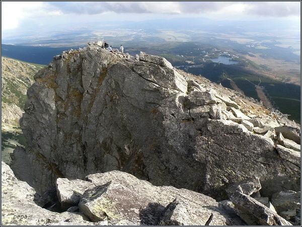 Predné Solisko, turistický vrchol
