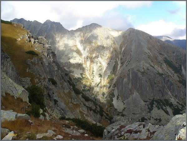 Mlynická dolina, Hrebeň Bášt a Patria z Predného Soliska