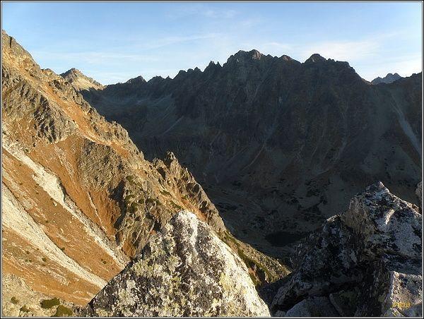 Mlynická dolina a Hrebeň Bášt z Predného Soliska