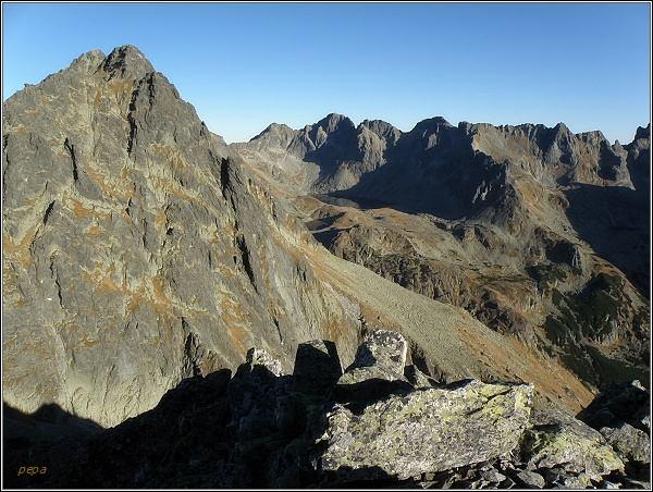 Mengusovská dolina z Malej Bašty