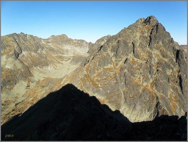 Mlynická dolina z Malej Bašty