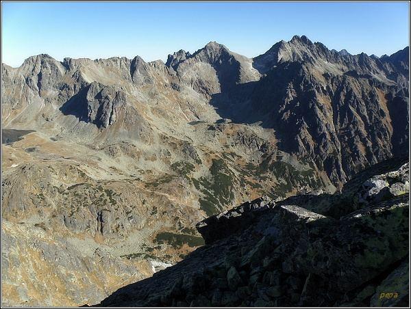 Mengusovská dolina z Prednej Bašty