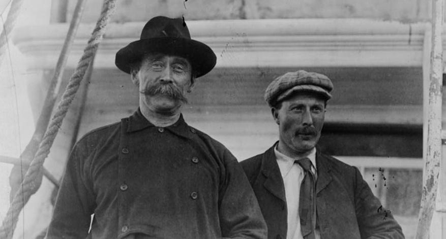 Robert Peary a Robert Bartlett