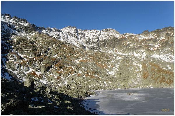 Mlynická dolina. Furkotský štít a Triumetal (uprostřed vpravo)