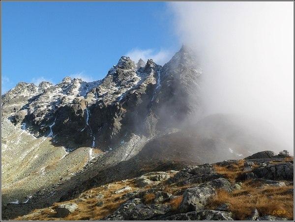 Mlynická dolina. Hrebeň Bášt