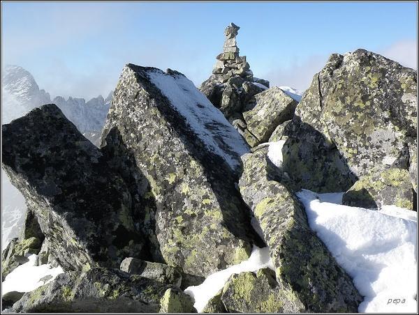 Na vrcholu Štrbského štítu