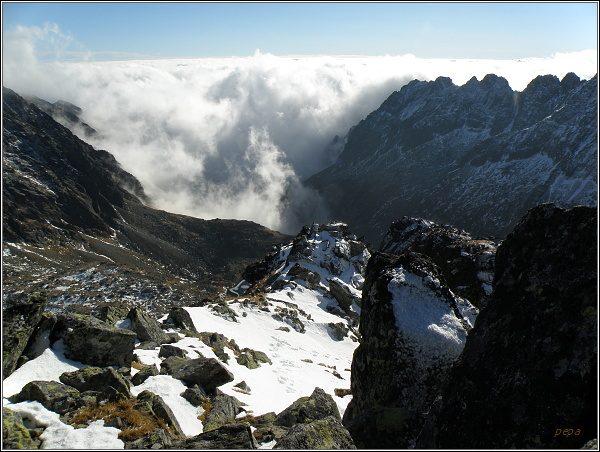 Mlynická dolina ze Štrbského štítu