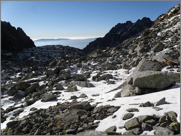 Mlynická dolina od Hlinskej veže