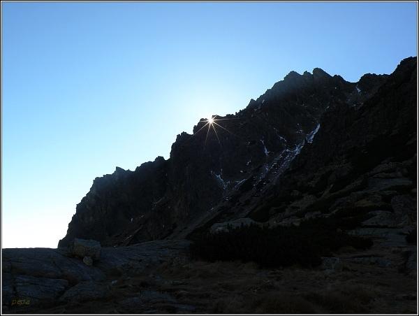 Mlynická  dolina. Hvězda nad Soliskom