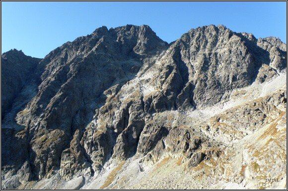 Zadný Gerlach a Gerlachovský štít nad Velickou dolinou