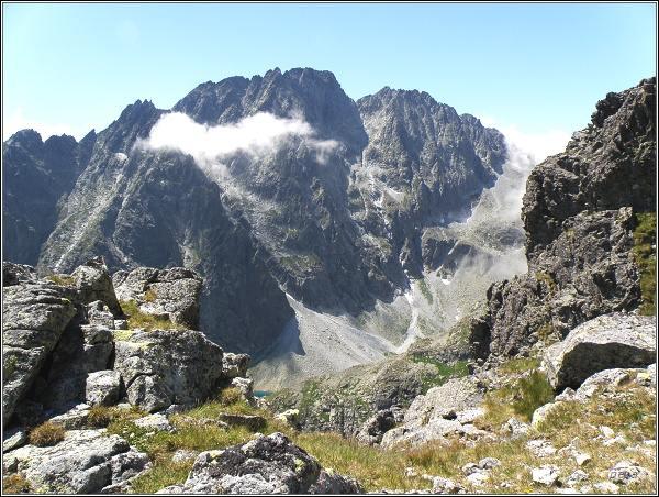 Gerlachovský štít z Granátovej lávky