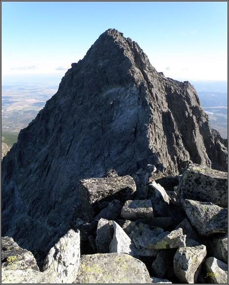 Martinova cesta. Hrana z Tetmajerova sedla k vrcholu Gerlachovského štítu