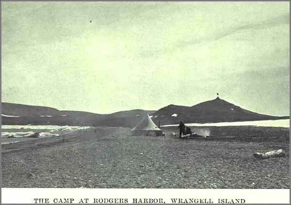 Tábor na Rogerově ostrově