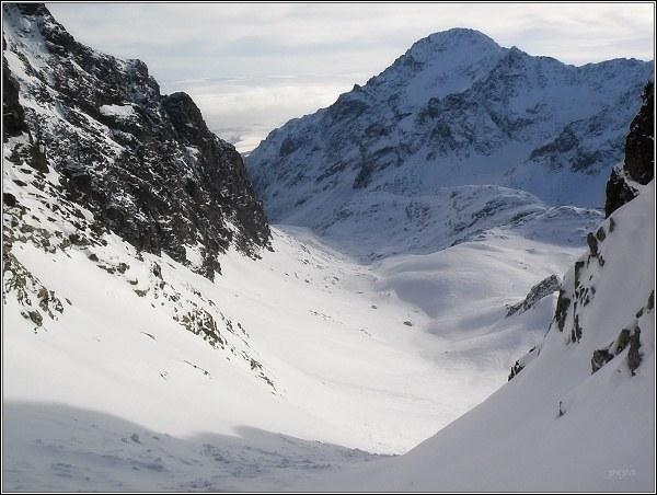 Veľká Studená dolina. Slavkovský štít