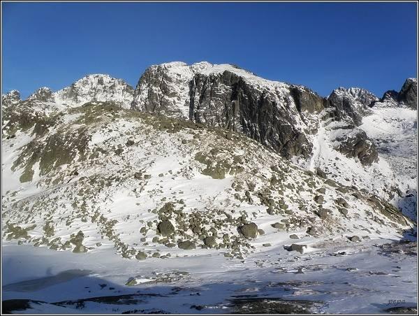 Veľká Studená dolina. Javorové štíty