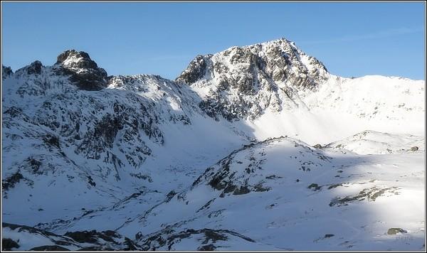 Veľká Studená dolina. Svišťový štít