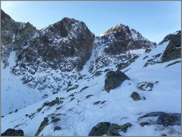 Veľká Studená dolina. Kupola a Východná Vysoká