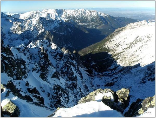 Svišťová dolina ze Svišťového štítu