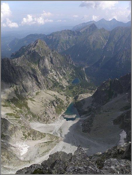 Ťažká dolina z Vysokej