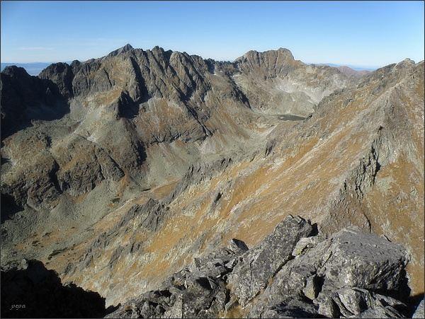 Mlynická dolina z Prednej Bašty