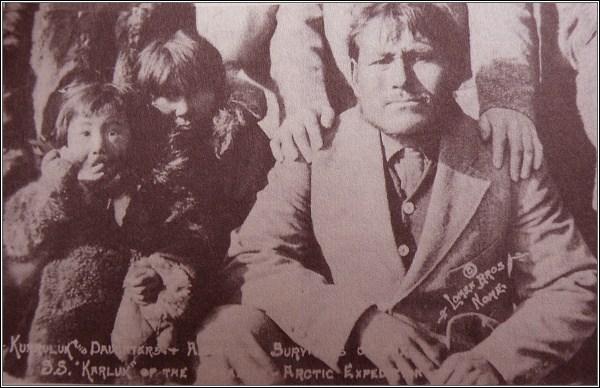 Mugpi, Helen a Kuraluk na zpáteční cestě na Aljašku