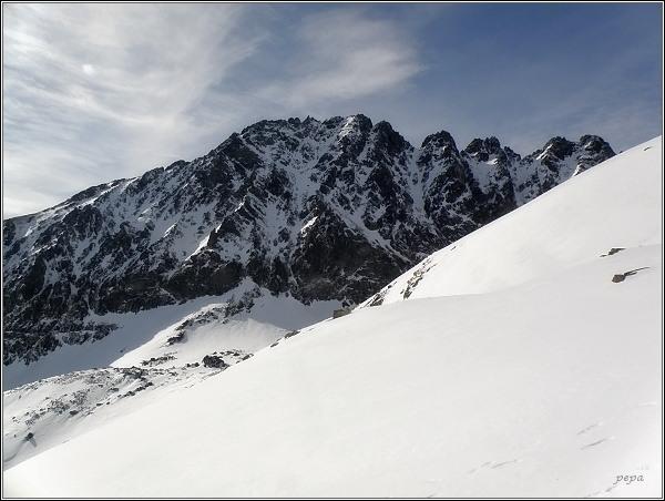 Končistá nad Batizovskou dolinou