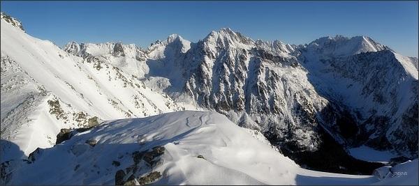 Panoráma Mengusovskej doliny z Patrie