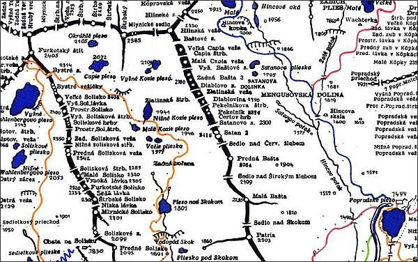 Patria, mapa