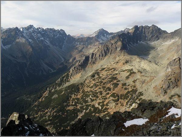 Mengusovská dolina a Dračia dolinka z Tupej