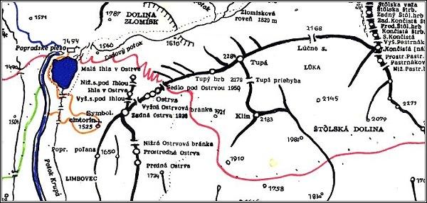 Tupá, mapa