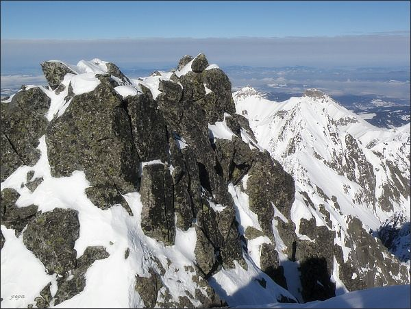 Baranie rohy, severozápadní vrchol