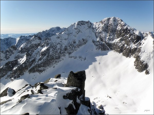 Ľadové štíty z Baraních rohov