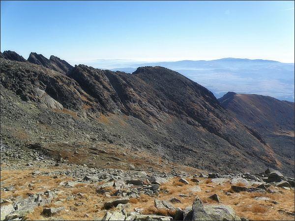 Dolina Suchej vody a Kozí chrbát z Krátkej