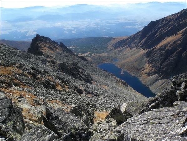 Jamský hrebeň, Važecká dolina a Zelené pleso Kriváňske z Krátkej