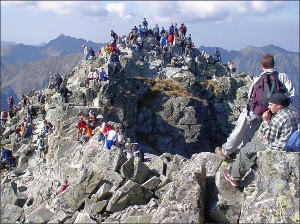 Rysy, severozápadní  (polský) vrchol