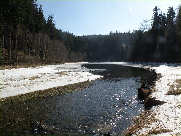 Boskovická přehrada, přítok Bělé (15)