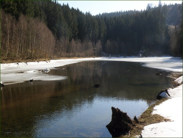 Boskovická přehrada, přítok Bělé (16)
