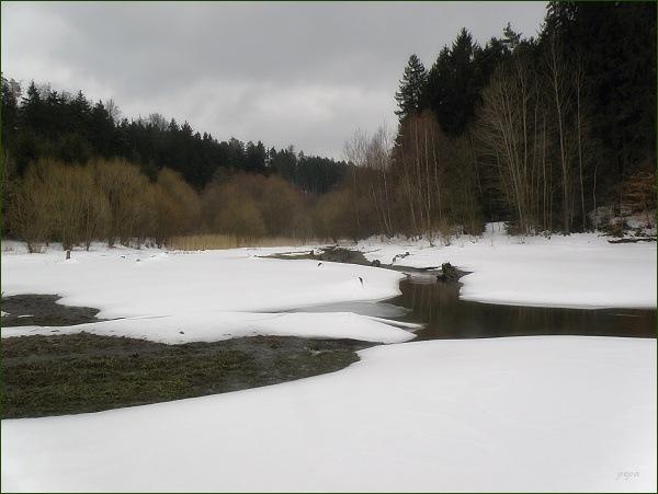 Boskovická přehrada, přítok Valchovky (21)