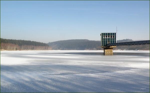 Boskovická přehrada, odběrná věž