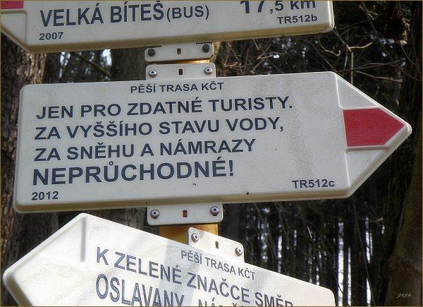 Jen pro zdatné turisty !