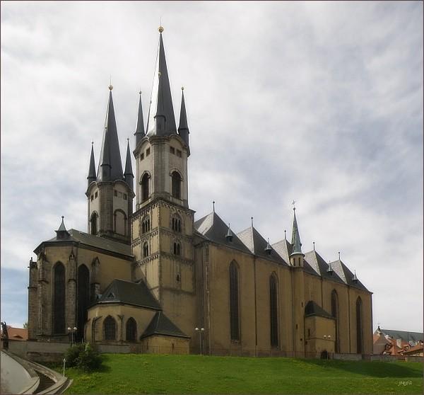 Cheb. Kostel svatého Mikuláše a svaté Alžběty