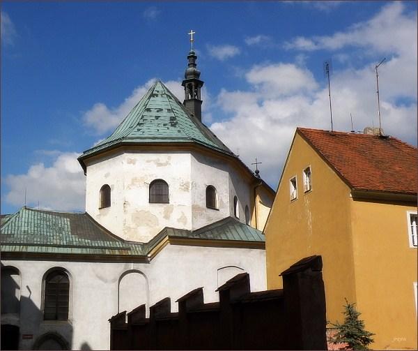 Cheb. Kostel svatého Václava